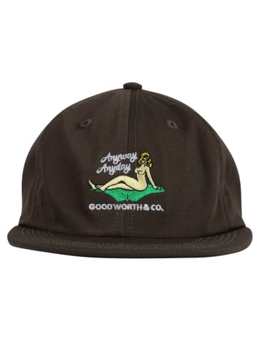 Image of GOOD WORTH & CO. - ANYWAY STRAPBACK (CHARCOAL)