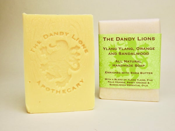 Image of Ylang, Orange and Sandalwood Soap enriched with Shea Butter