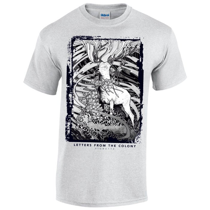 Image of T-shirt Vignette Grey