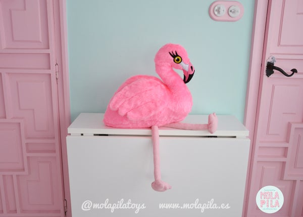 Image of Plush Flamingo