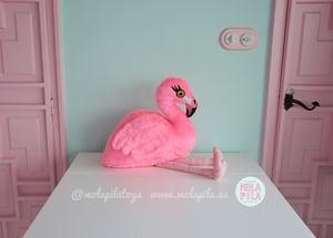 Image of Plush Flamingo