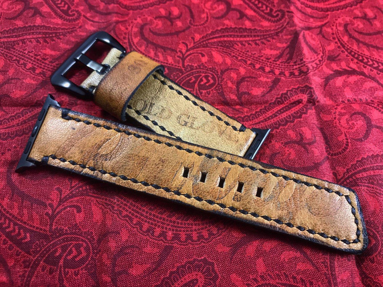 Image of Apple Watch Baseball Glove Watch Band