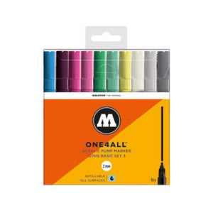 Image of MOLOTOW One 4 All 127 HS Main 10x Marker Set Basic 3