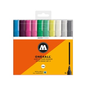 Image of MOLOTOW One 4 ALL 227HS 10x Marker Set Basic 3