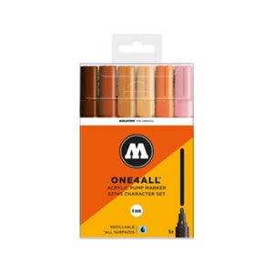 Image of MOLOTOW One 4 All 227 HS 6x Marker character