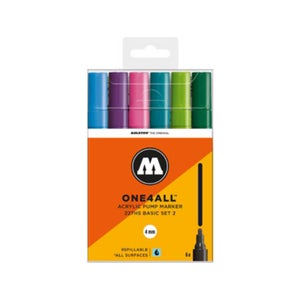Image of MOLOTOW One 4 All 227 HS 6x Marker Basic 2