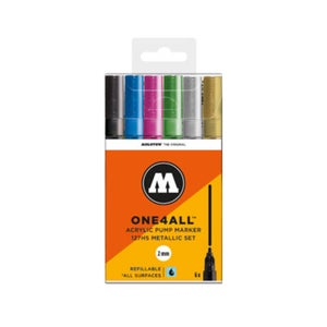 Image of MOLOTOW One 4 All 127 HS Metallic Marker Set