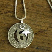 Image of Ithaca Transit Token Necklace