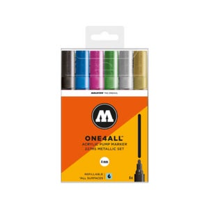 Image of MOLOTOW One 4 All 227 HS Metallic Marker Set