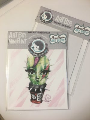 Image of ARTBITS™ MINI PRINTS 'DIY - Stick it to the Man' 2017