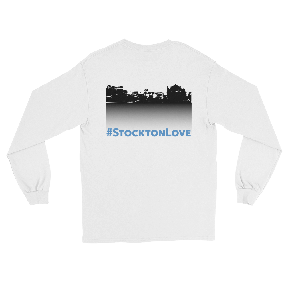Image of Songs of Zion #StocktonLove Long-Sleeve Tee
