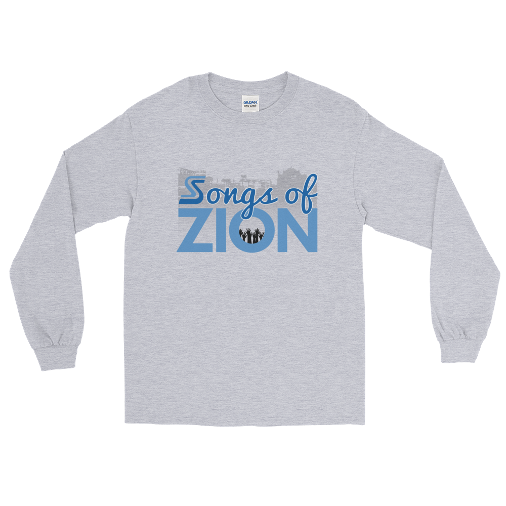 Image of Songs of Zion Psalm 100.1 Long-Sleeve Tee