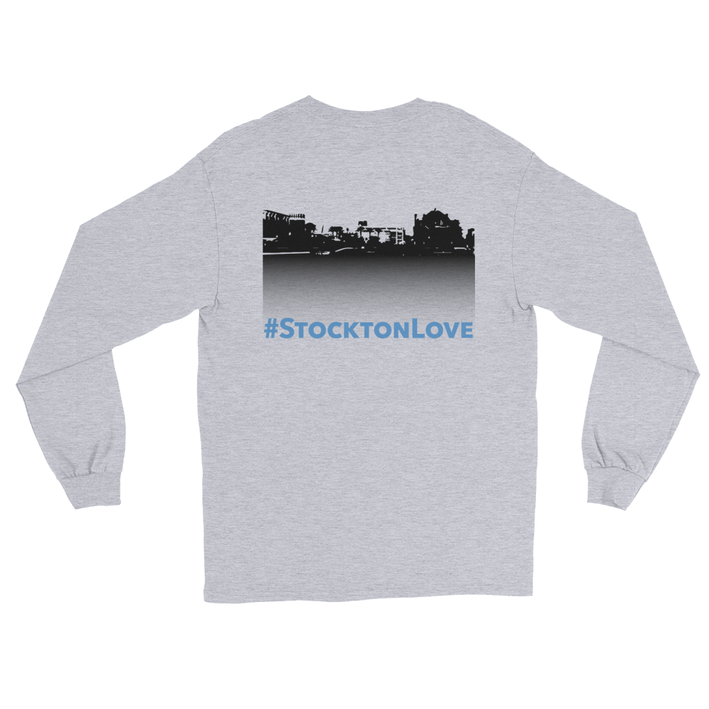 Image of EXT-Songs of Zion #StocktonLove Long-Sleeve Tee (Extended Sizes)