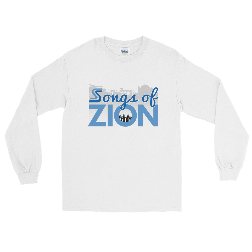 Image of EXT-Songs of Zion Psalm 137.5 Long-Sleeve Tee (Extended Sizes)