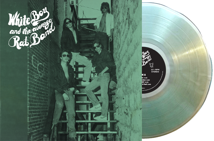 Image of Coke Clear Vinyl - White Boy and the Average Rat Band