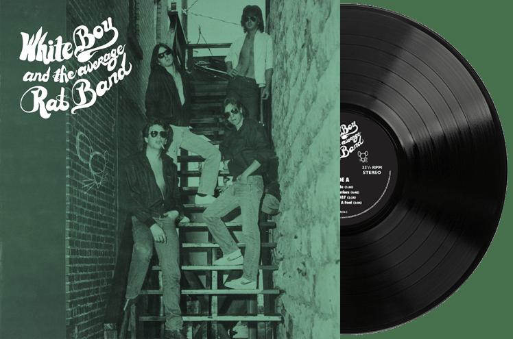 Image of Black Vinyl - White Boy and the Average Rat Band