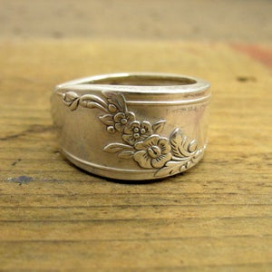 Image of Queen Bess Spoon Ring