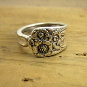Image of April Spoon Ring (round)