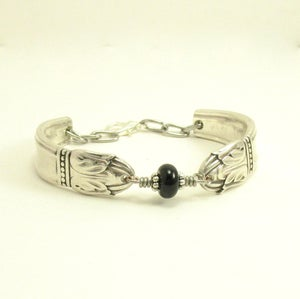 "Image of ""Danish Princess"" Silverware Bracelet"