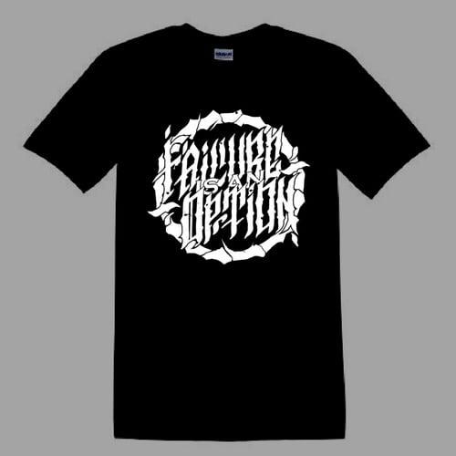 Image of FIAO Logo - Black roundneck T-shirt