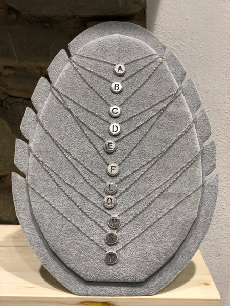 Image of GM Initial necklace