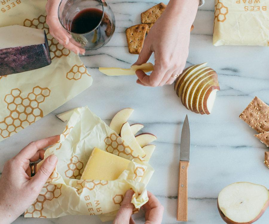 Image of Beeswrap - cheese 3 pak