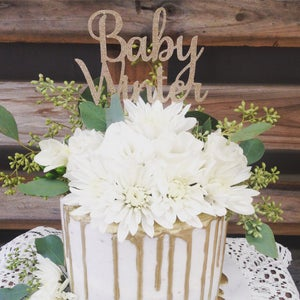 Image of Baby Cake Topper