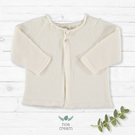 Image of Cardigan Noa Cream (antes 38.90€)