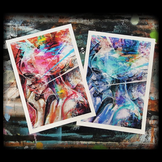 """Image of """"Ready To Release The Shackles"""" OPEN EDT PRINT - FREE WORLDWIDE SHIPPING!!!"""