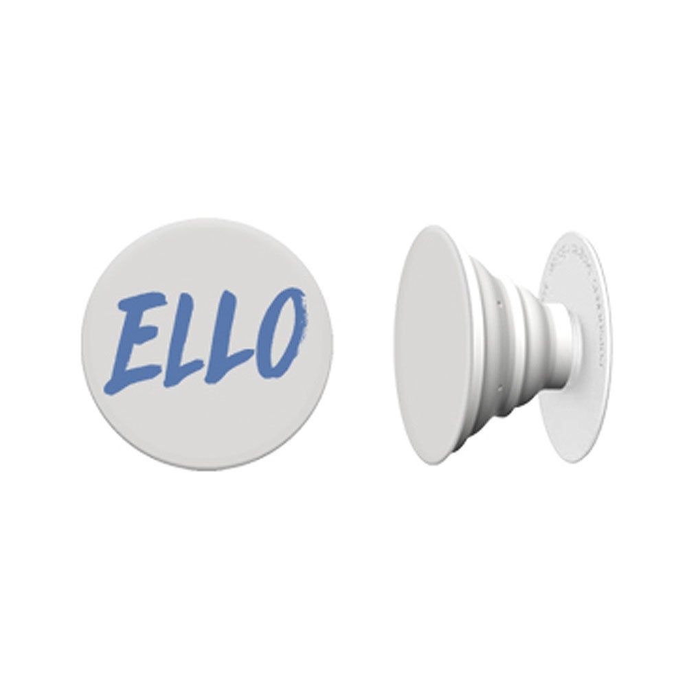 Image of Blue 'ELLO' Pop Socket
