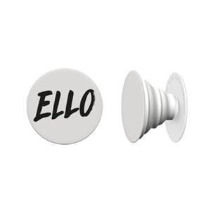 Image of Black 'ELLO' Pop Socket