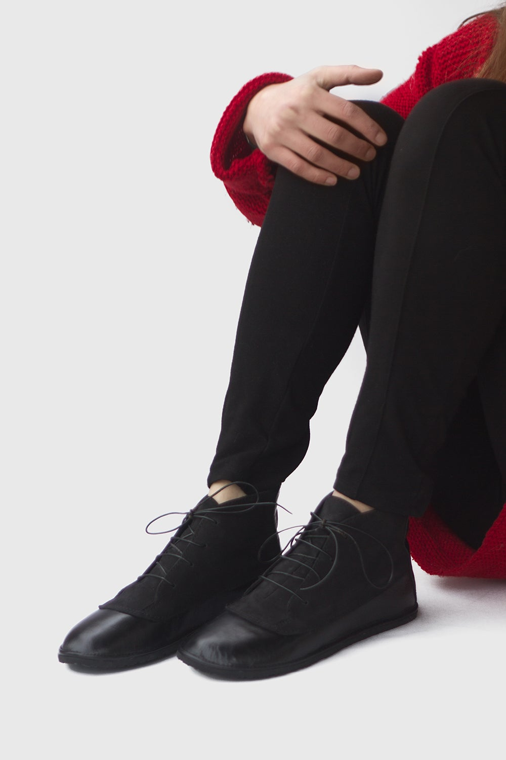 Image of Billie - Two textures Ankle boots