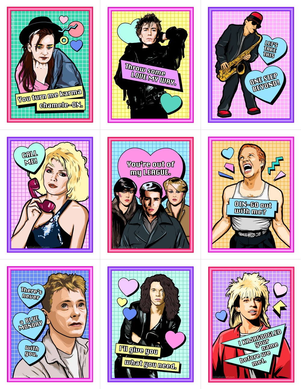 New Wave Valentine's Day Card Pack (2018)