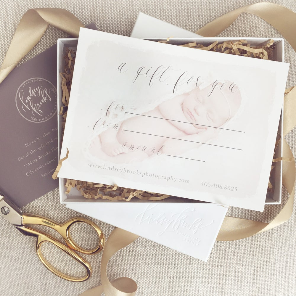 Image of Gift Certificate | Lindsey Brooks Photography