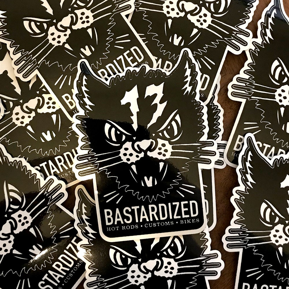 Image of *NEW* Cat sticker