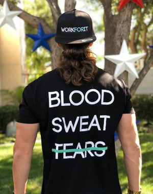 Image of BLOOD, SWEAT, TEARS Fitted T-Shirt