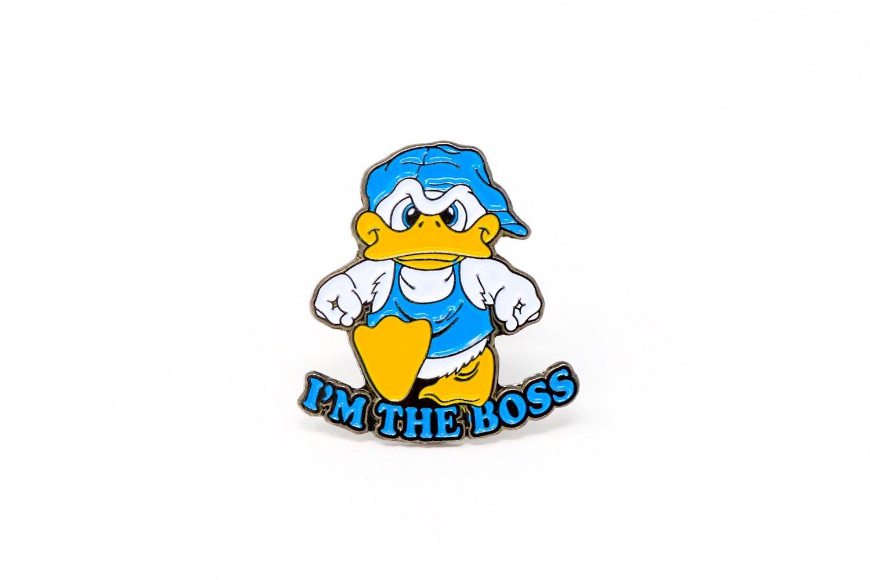 Image of I'm The Boss Enamel Pin