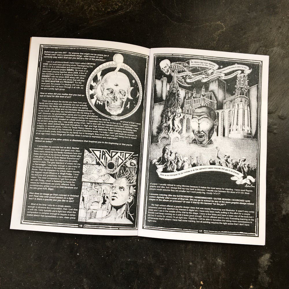 Image of BLACK GLOVE 'ZINE issue 4