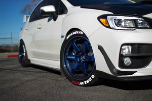 Image of Subaru WRX/STI Carbon Fiber Side Splitter Extensions