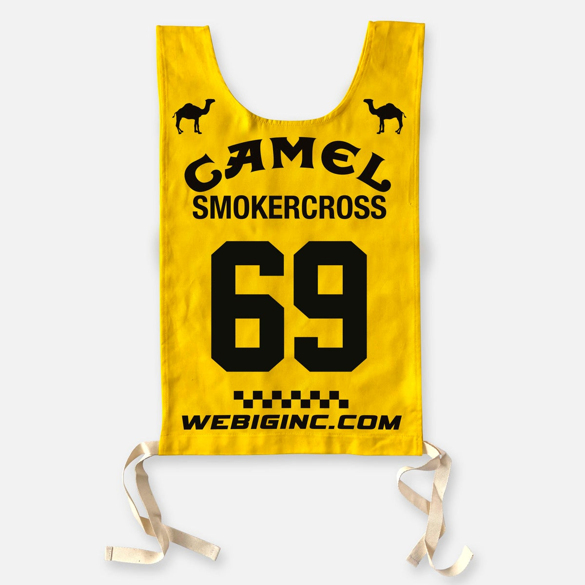Image of CAMEL SMOKERCROSS BIB / WITH NUMBER
