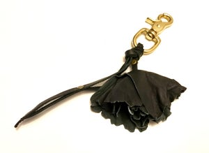 Image of flower key ring