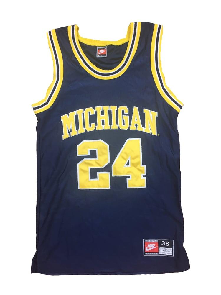 5da4cb5c8ec Nike University of Michigan Basketball Jersey | 3.1.Thrift
