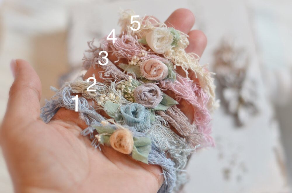Image of dainty organic headbands