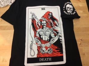 "Image of Panzram ""Death"" Tarot shirt"