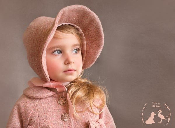 Image of Sonia Bonnet to match swing coat - not sold separately, only sold with matching coat