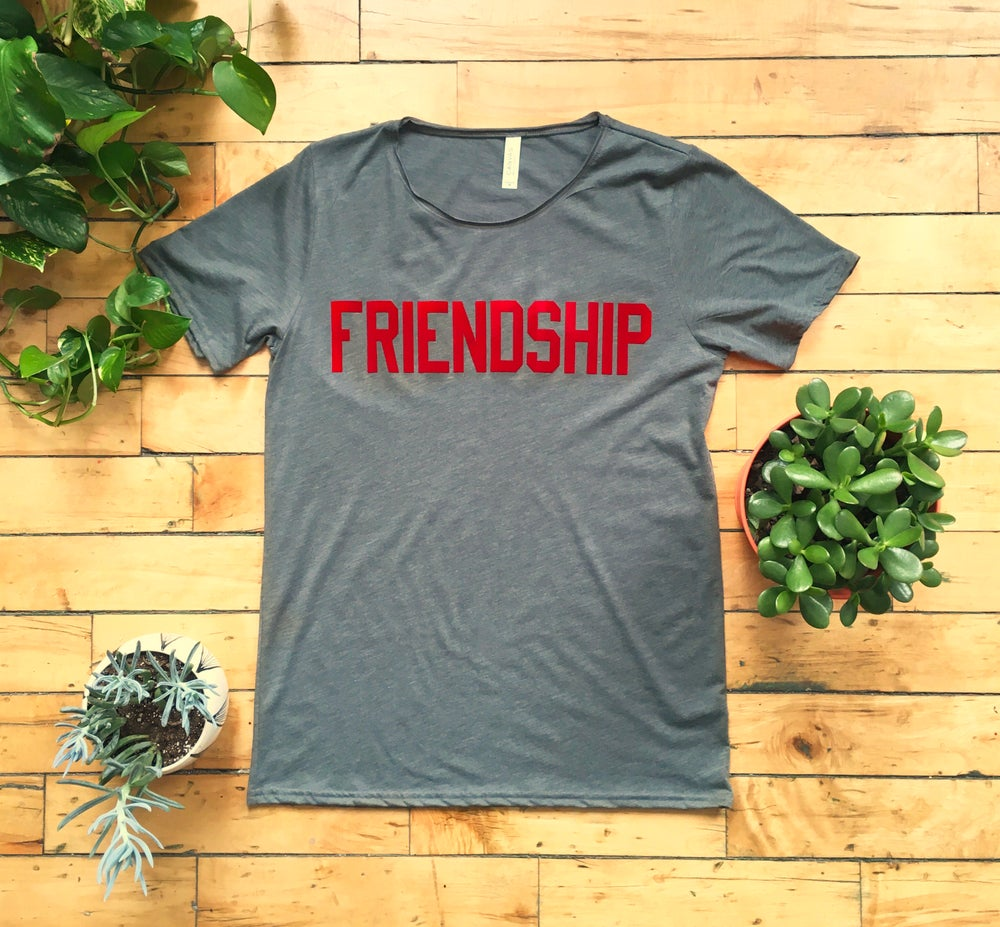 Image of FRIENDSHIP Tee - Unisex