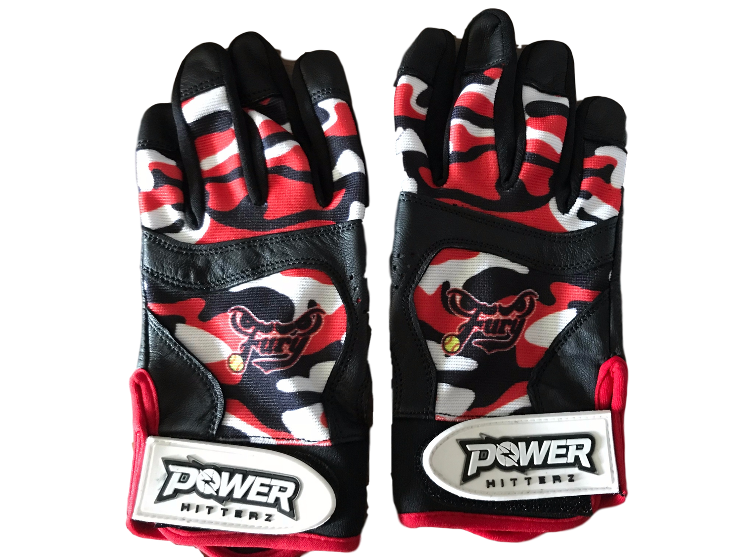 Image of Custom Team Batting Gloves 4 (pair)