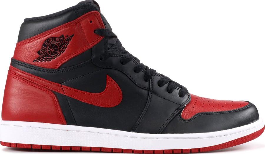 """Image of Nike Retro Air Jordan 1 """"Banned"""" (2016) SZ 10"""