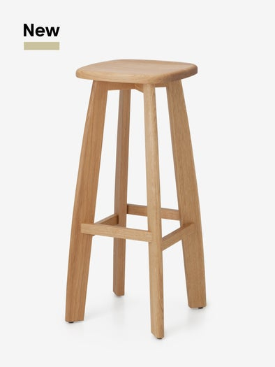 Image of STONE barstool / on order