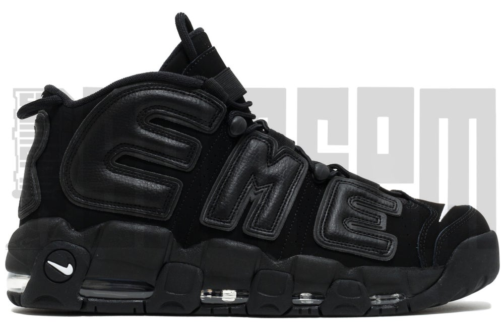 "Image of Nike AIR MORE UPTEMPO ""SUPREME BLACK"""